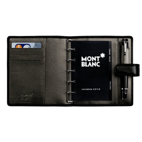 BOH Organiser Pocket w Clasp Black/Pearl 106788