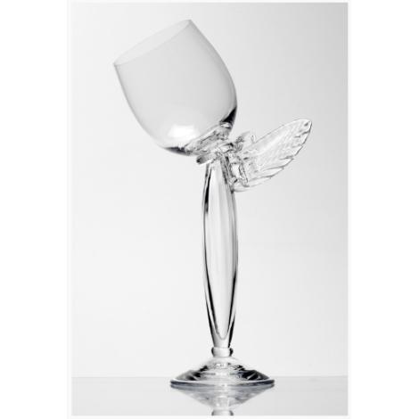 COLIBRI - sklenice na víno z kolekce uměleckého skla Bořka Šípka