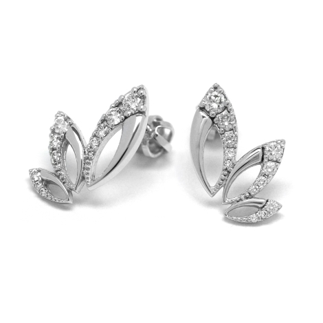 Diamantové náušnice  29149