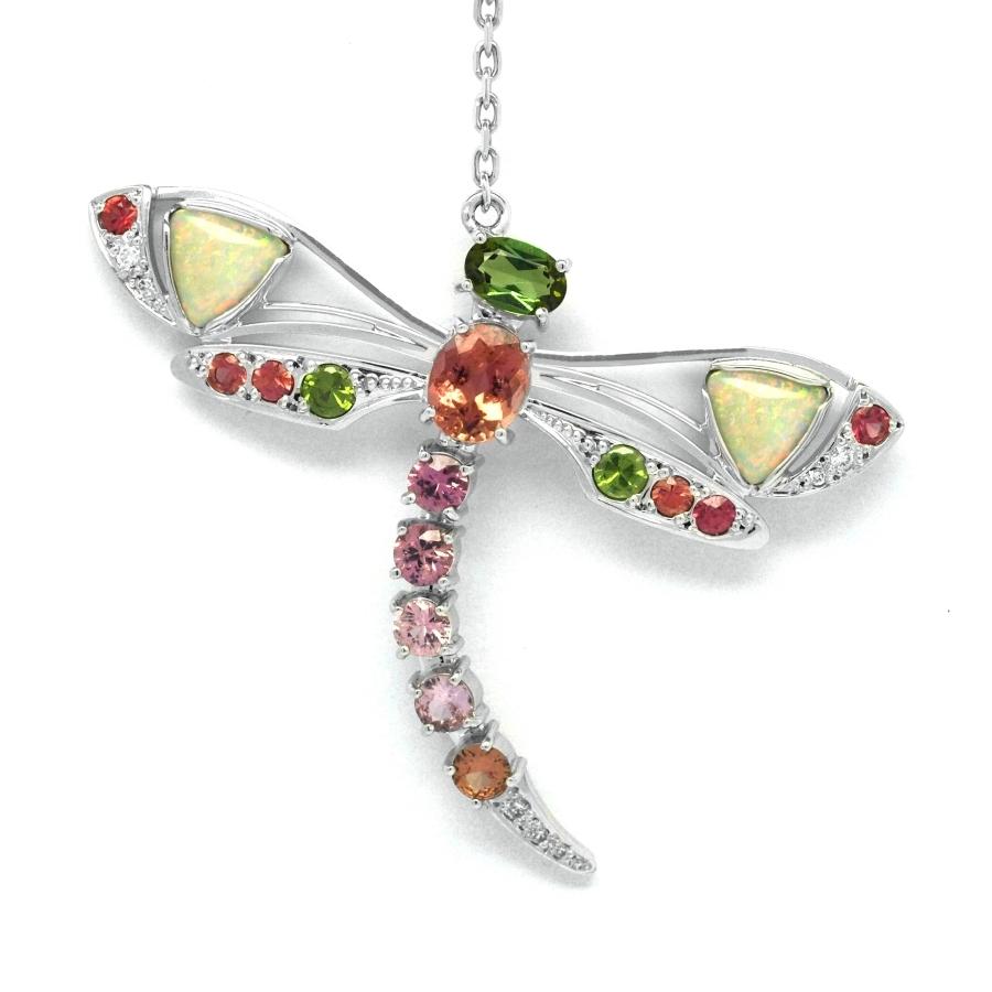 e21dd9fc4 Dámský diamantový náhrdelník 28099 | DEAL Klenotnictví