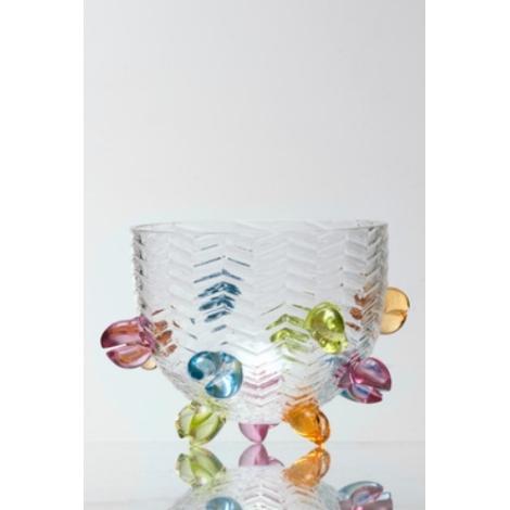 HIPPU -  miska z kolekce uměleckého skla Bořka Šípka