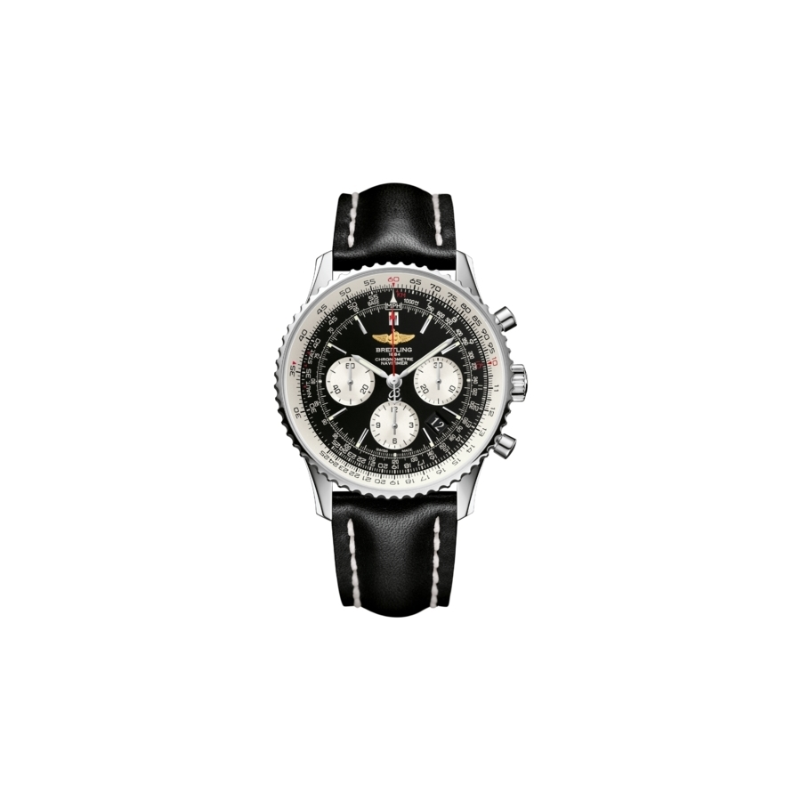 Pánské hodinky Breitling Navitimer 01 Black AB012012 BB01 435X ... 3951e67bd5