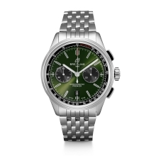 Hodinky Breitling Premier B01 Chronograph 42 Bentley Britisch Racing AB0118A11L1A1