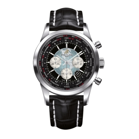 Hodinky Breitling Transocean Chronograph Unitime  AB0510U4/BB62/760P