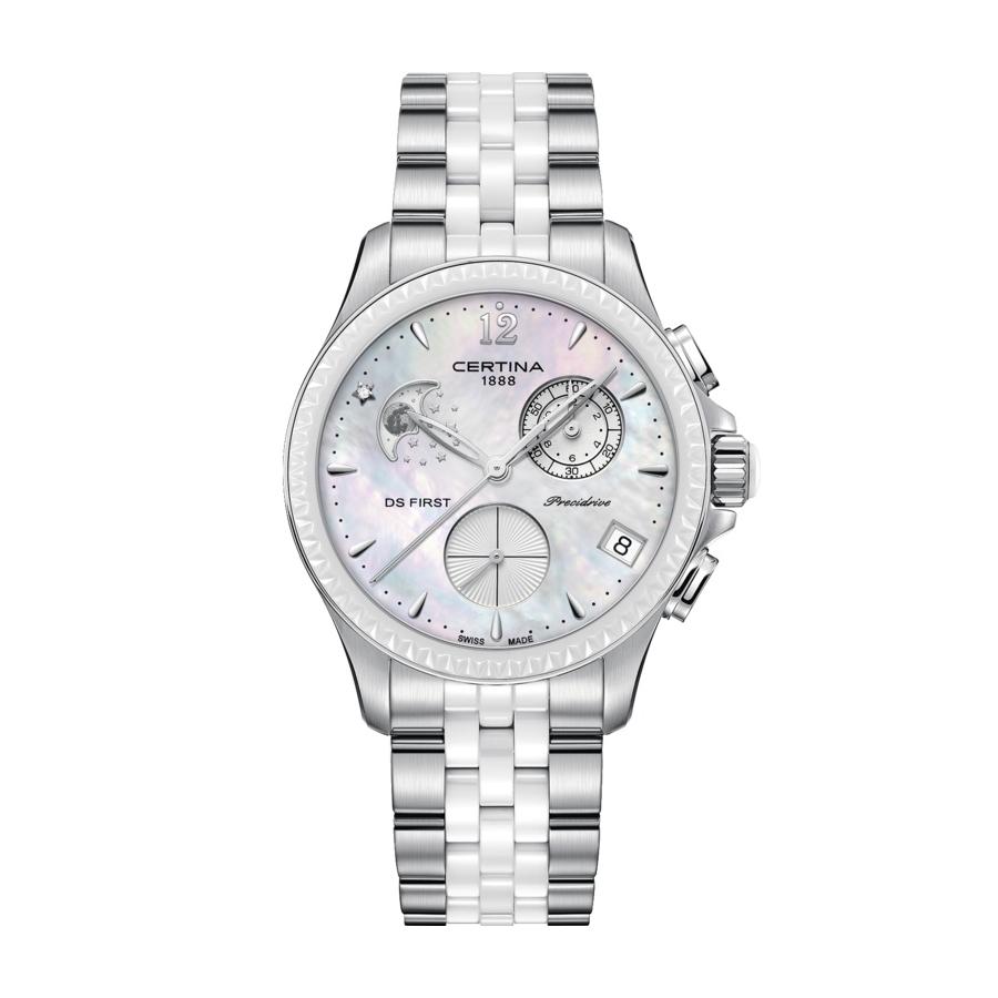 Dámské hodinky Certina DS First Lady Moon Phase C030.250.11.106.00 ... 64609b6d2b