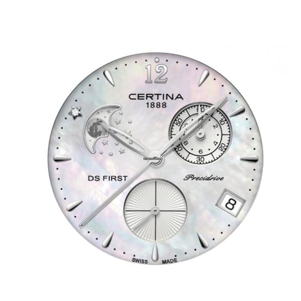 Dámské hodinky Certina DS First Lady Moon Phase C030.250.11.106.00 ... ca04ac035e