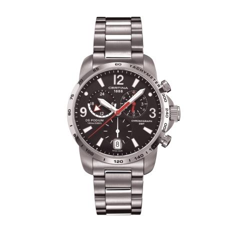 Hodinky Certina PODIUM BIG CHRONO GMT  C001.639.11.057.00