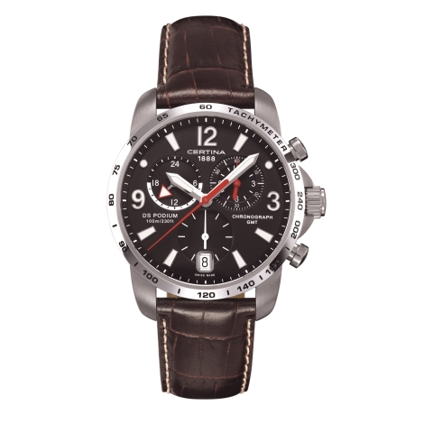 Hodinky Certina PODIUM BIG CHRONO GMT  C001.639.16.057.00