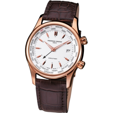 Hodinky Frederique Constant Index Worldtimer 255V6B4