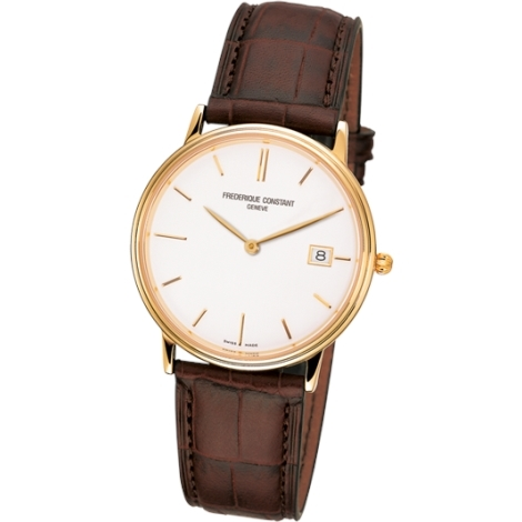Hodinky Frederique Constant Slim Line Date  220NW4S5