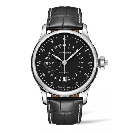 Hodinky Longines Twenty-Four Hours Single Push-Piece Chronograph  L2.797.4.53.0