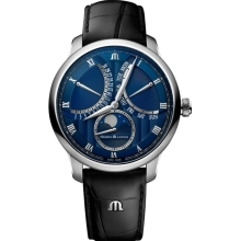 Hodinky Maurice Lacroix Masterpiece Double Retrograde Moonphase MP6608-SS001-410