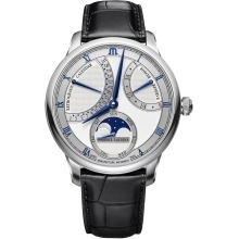 Hodinky Maurice Lacroix Masterpiece Moonphase Retrograde  MP6588-SS001-131