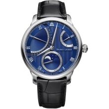 Hodinky Maurice Lacroix Masterpiece Moonphase Retrograde  MP6588-SS001-431