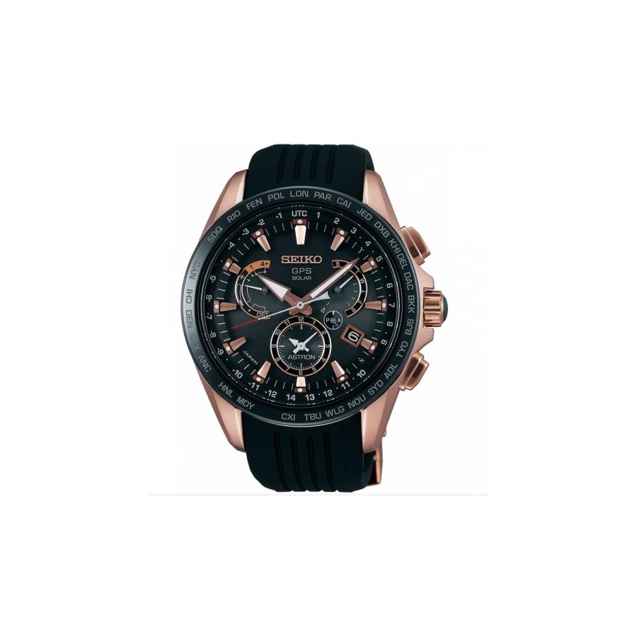 10c133d16 Pánské náramkové hodinky Seiko Astron SSE055J1 se solárním pohonem ...