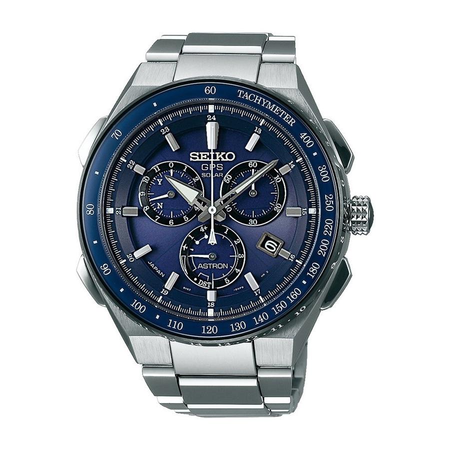 Pánské hodinky SEIKO ASTRON SSE127J1 se solárním pohonem a s GPS ... 7bd50942737