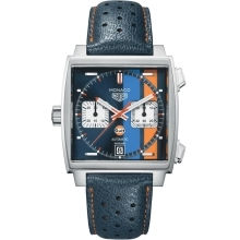 Hodinky Tag HeuerTag Heuer Monaco Gulf Special Edition  CAW211R.FC6401