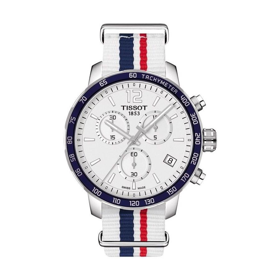 Pánské hodinky Tissot Quickster NATO Chronograph  3db74bc6a46