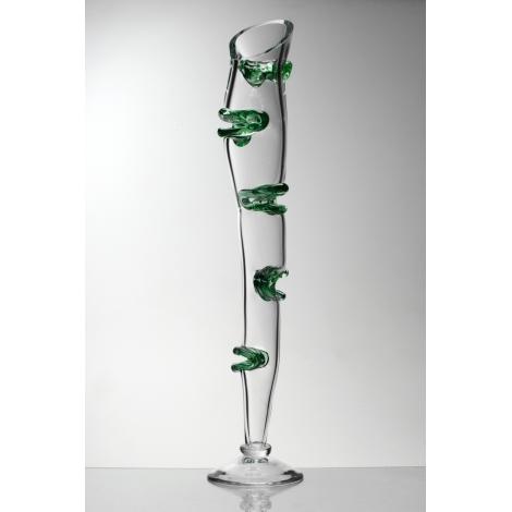 JANECKÝ - váza z kolekce uměleckého skla Bořka Šípka