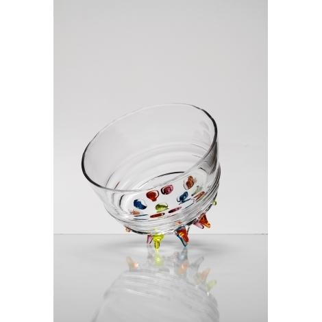 JEŽEK - miska z kolekce uměleckého skla Bořka Šípka