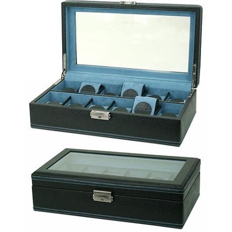 Kazeta na hodinky Friedrich Lederwaren Onyx  32011-2