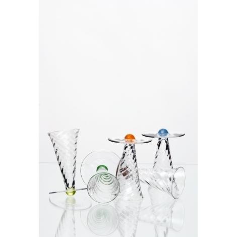 KEJVALKA -  sklenice na nealko z kolekce uměleckého skla Bořka Šípka