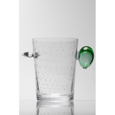 LEDUM - chladící nádoba na sekt z kolekce uměleckého skla Bořka Šípka