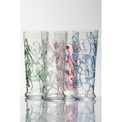 MOTANÁ -  sklenice z kolekce uměleckého skla Bořka Šípka