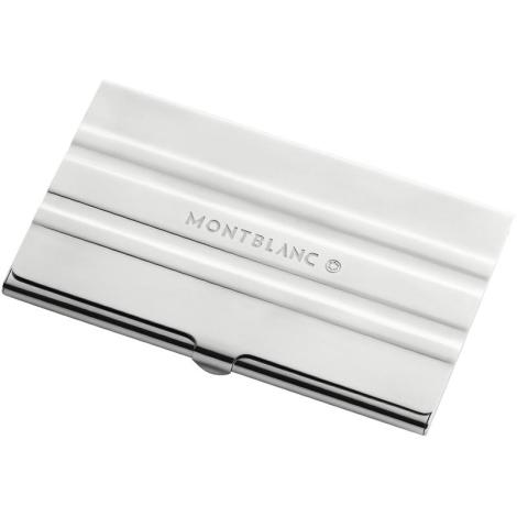 Name card case metal 3-rings motif 105250