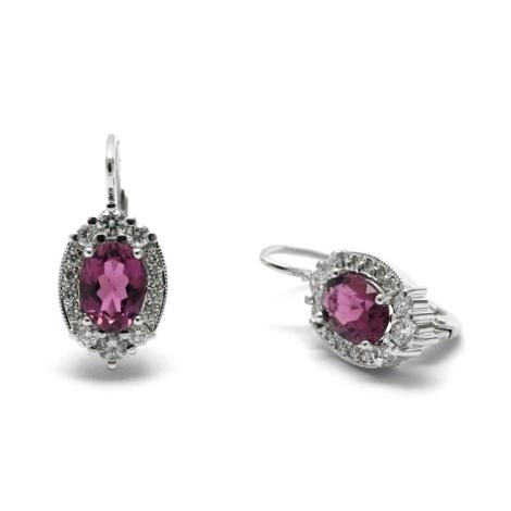 Náušnice s diamanty 29477