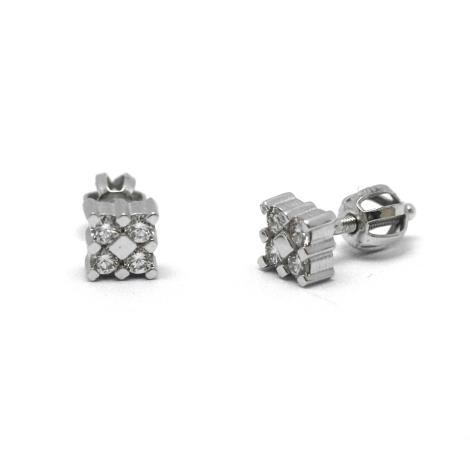 Náušnice s diamanty 29670