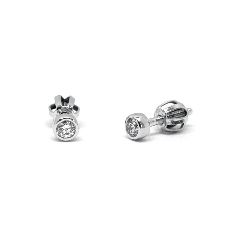 Náušnice s diamanty 30239