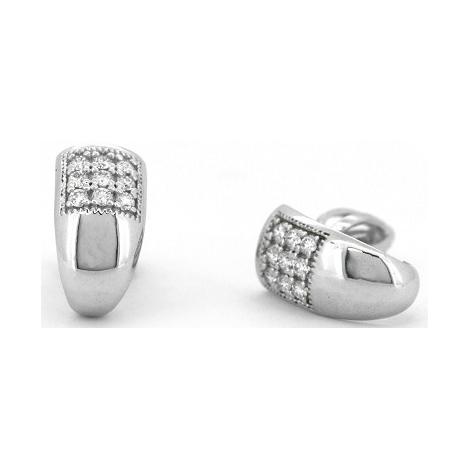 Náušnice s diamanty 31824