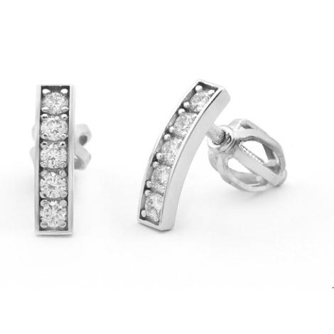 Náušnice s diamanty  33728
