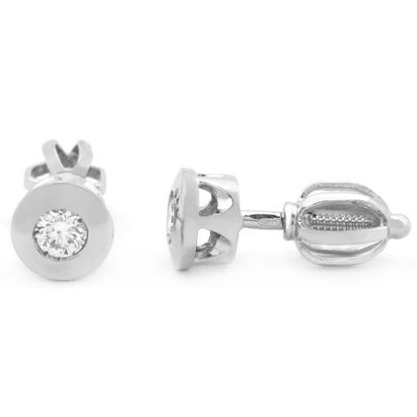 Náušnice s diamanty 33731