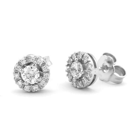 Náušnice s diamanty  34148