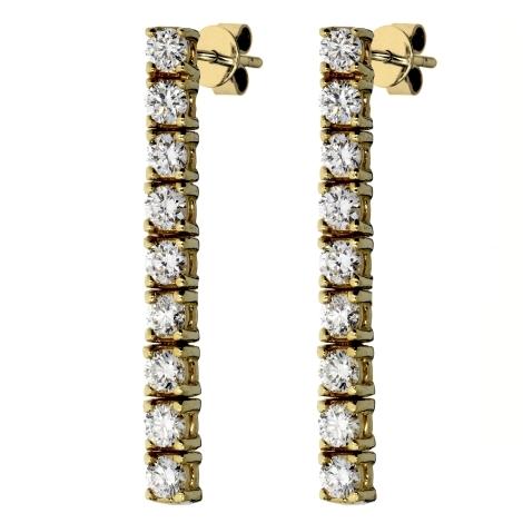 Náušnice s diamanty 612120E