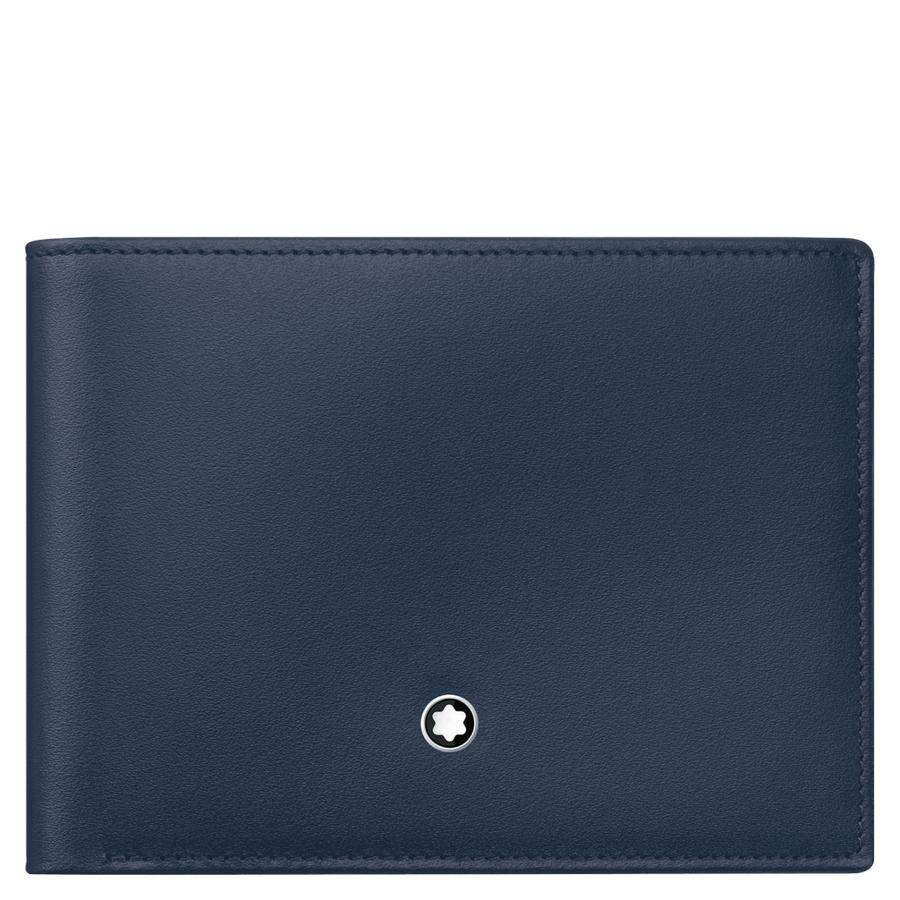 Kožená peněženka Montblanc Meisterstück Navy 114542  0796b8de6e