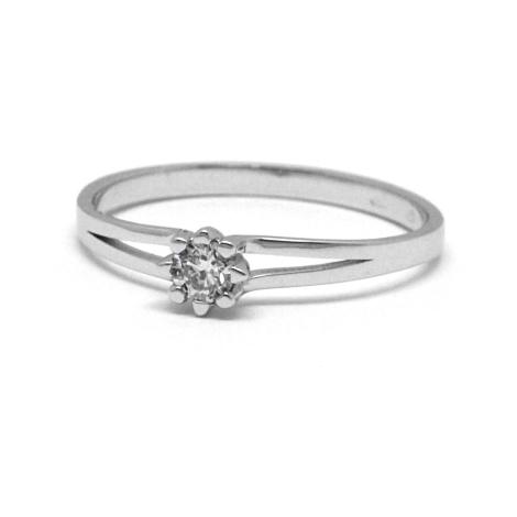 Prsten s diamantem  34015