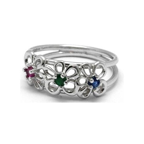 Prsten s diamanty 30306