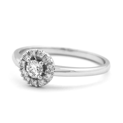 Prsten s diamanty 32244