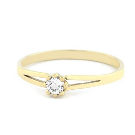 Prsten s diamanty  34016