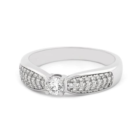 Prsten s diamanty 34025