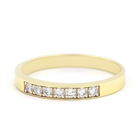 Prsten s diamanty 34075