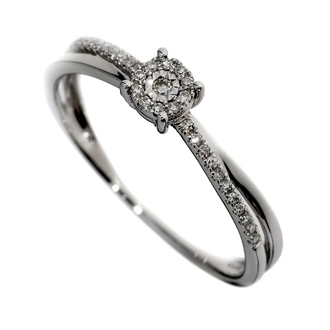 Prsten s diamanty 46871R033-54