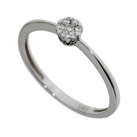 Prsten s diamanty SR54093-54