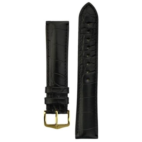 Řemínek Hirsch Genuine Alligator L 19mm 10220759-1-19