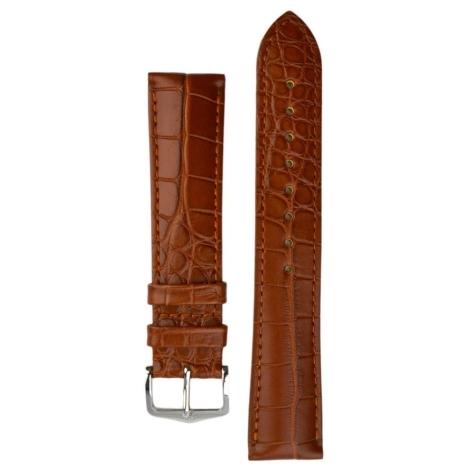 Řemínek Hirsch Genuine Alligator L 20mm 10220779-1-20
