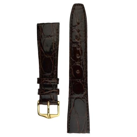 Řemínek Hirsch Genuine Croco L 20mm 18920810-1-20