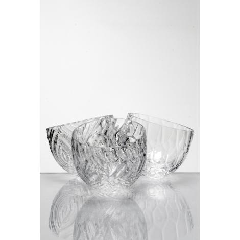 TRIPLE - miska z kolekce uměleckého skla Bořka Šípka Triple